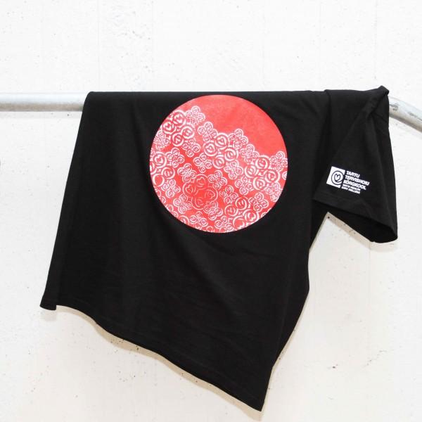 Must T-särk (V-kaelus)