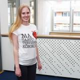Valge T-särk (naiste lõikega)